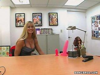 Blonde Milf Gets fucked Hard In Her Job Interview