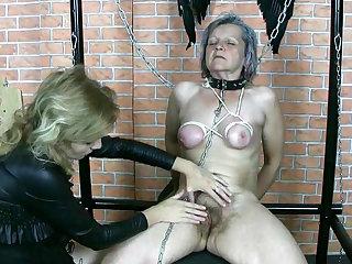 Granny was humiliated in hardcore domination vid