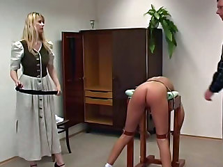 Ass beating in the prairie home
