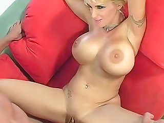 Big titty babe Holly is hot as hell having hardcore sex in her milf pussy and giving a footjob.