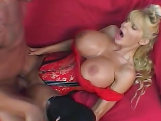 Misty Knights is extremely busty milf, that doesn't fucks with inexperienced guys and small dicks.