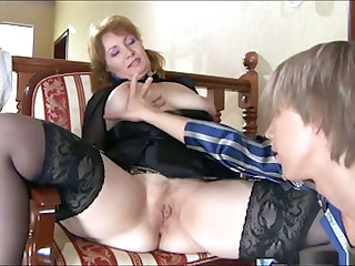 youthful fellow likes to fuck older wazoo