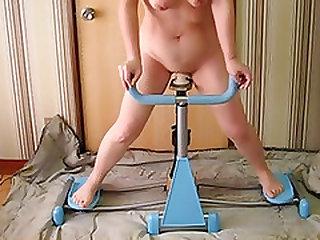 Homemade sex machine