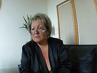 French BBW Milf Carole
