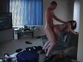 Amateur guy caught cheating