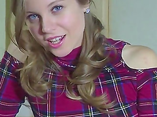Small Dick Humiliation From A Hot Blonde Teen