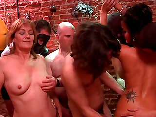 Lucky men are happy to ravish a couple of cock hungry ladies