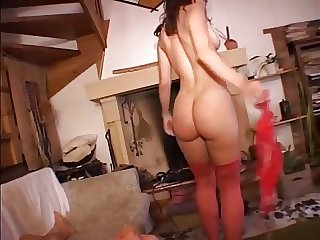 Marvelous GF shared for deep anal pounding of her big butt