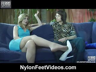 Ninette Loves Pantyhose and Hardcore Sex