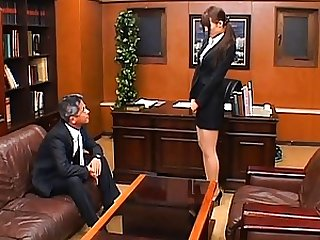 Junna Aoki shows her Japanese pussy to a lustful guy