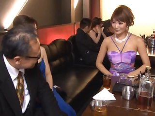 The Main Attraction In This Meeting Is The Sexy Japanese Model