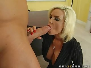 Diamond Foxxx Fucks Her Widowed Brother-In-Law's Big Cock