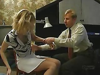Blonde Russian Babe Sucks Cock and Gets Fucked Against Her Will