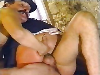 Kinky Lesbian Nuns Get Fucked and Facialized in Threesome - Retro German Porn