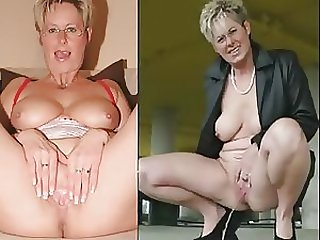 Busty Blonde German Granny Makes Her Pussy Squirt