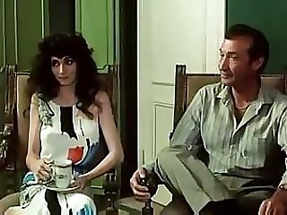 Sexy Babes Gets Fucked and Creampied in a Vintage French Porn Movie