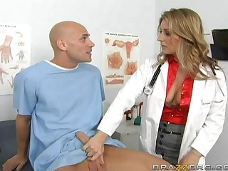 Why Can't All Doctors Look Like This Blonde Lingerie Goddess?