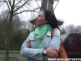 Woman has her first lesbian encounter with a prostitute