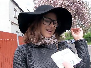 Fashion Student Fucks a Stranger