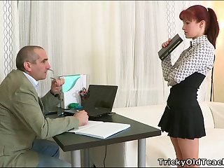 Stefany The Secretary Is A Slut