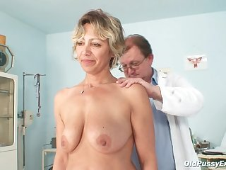 Mature needs doctor exam