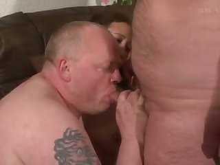 All old threesome scene