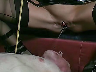 He submits to horny mistress Carmen