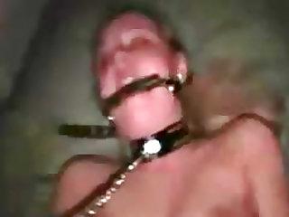 Cute bondage girl solo masturbation