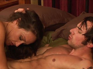 Graceful miniature slut Michelle Lay has sweet fucking with cocky fucker in doggy pose