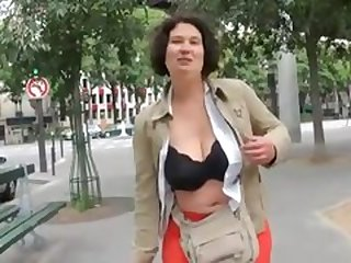 French BBW Audrey gangbanged_240p