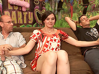 Sylvia Slut fucked well during a nasty gangbang session