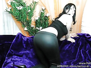 Leggins Fetisch German JOI High Heels Big Ass