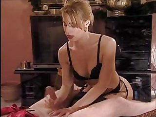 german prostate massage and stapon WHO IS THIS BLONDE??