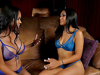 Horny Lesbian sisters playing the Girls Way for the 1st time