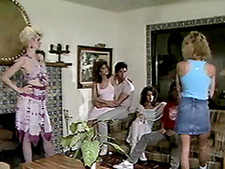 Steamy foursome with a cock-famished sugar Barbara Dare