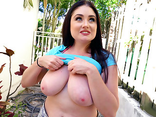 Busty Innocent Fucks for Cash