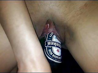 Lovingnessa fucking huge beer bottle