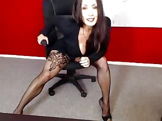 Denise On Webcam 3-24-2015