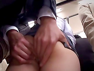 Superb bus group sex as Asian maiden gets throbbed hardcore