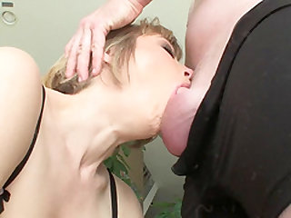 Sweet blonde Adrianna Nicole ravished between her warm lips