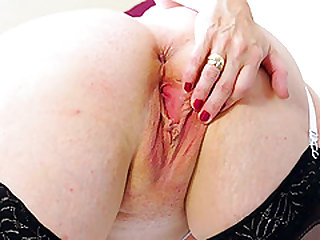 Hot Lusty Mature Playing with Toys