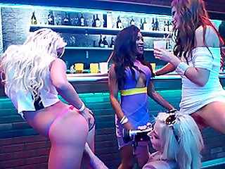 Sienna Day enjoying one of the best girl on girl sex parties