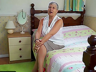 Hot grandmas compilation featuring mature women solo masturbation