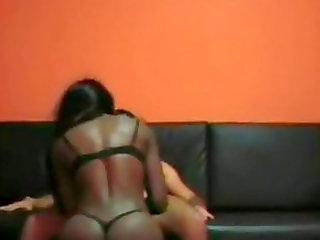 black stripper sucks a white man and get fucked after
