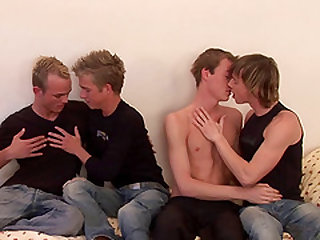 Orgy with attractive libidinous gays will make you go insane