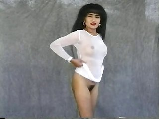 Christine wants everyone to see her magnificent vintage pussy!