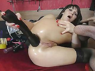 Insane Wet Ass Fisting