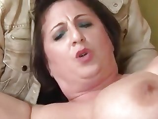 Italian cuckold and BBW