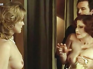 Lisa Gastoni nude from Scandalo - with Andrea Ferreol