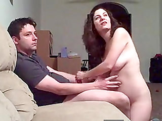 Husband asks one of his buddies to drop by at home